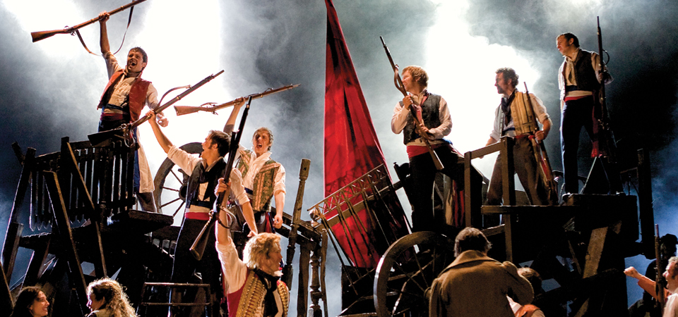Barricades - Les Misérables arrives at Her Majesty's Theatre Melbourne in June 2014